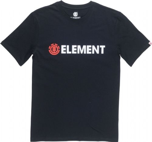 ELEMENT MENS T SHIRT.BLAZIN BLACK COTTON SHORT SLEEVED SKATER TOP TEE 8W 6 3732
